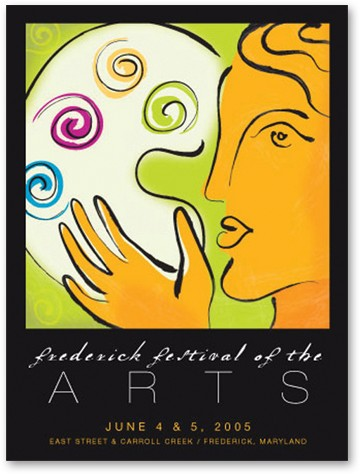 Frederick Festival of the Arts (Poster II)